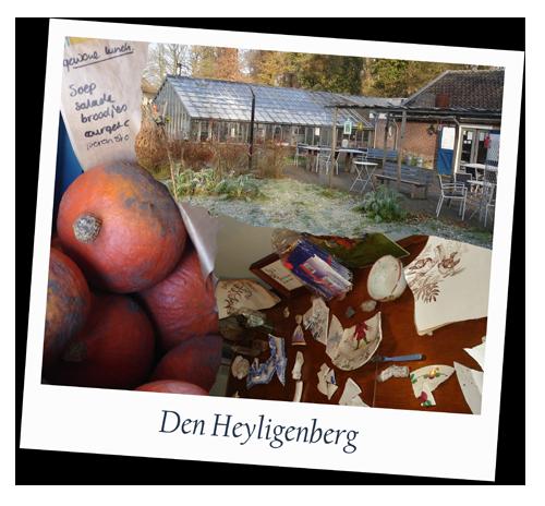 Een bezoek aan de groetentuin den Heyligenberg