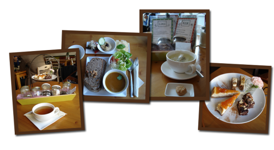 Lekkere lunch, thee en taart bij KEEK