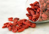 Gedroogde goji bessen - superfood