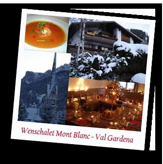 Wenschalet Mont Blanc in Santa Christina, Val Gardena