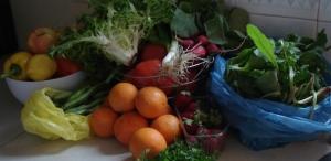 Seizoensgroente- en fruit in juni