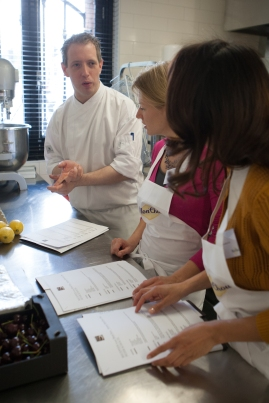 Uitleg van chef Peter Scholte | Sucre | Workshop MonChou