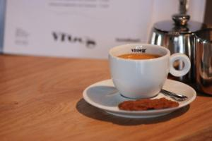 koffie drinken bij vroeg