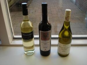De geteste flessen