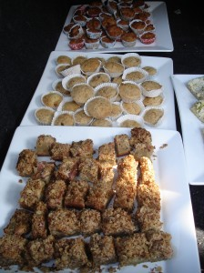 Muffins en taart