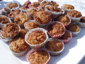 Hartige muffins van Amber albarda