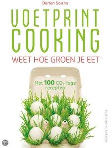 Boek Voetprintcooking van Dorien Soons
