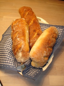 Homemade stokbrood