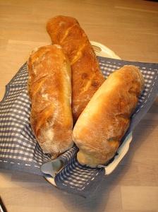 Homemade stokbrood